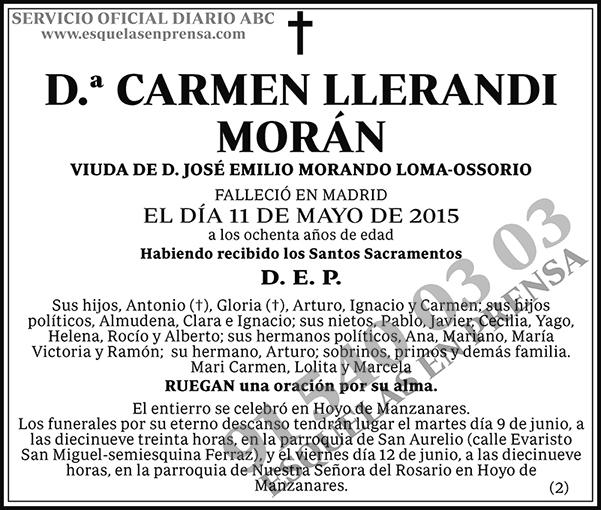 Carmen Llerandi Morán
